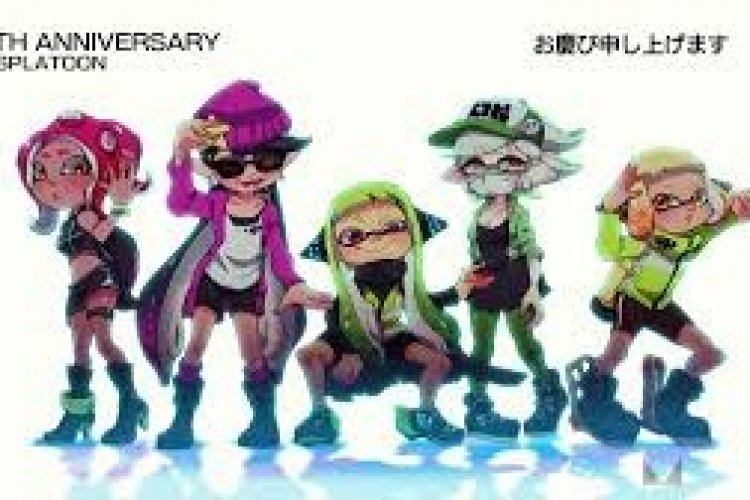 Squid Sisters Callie and Marie