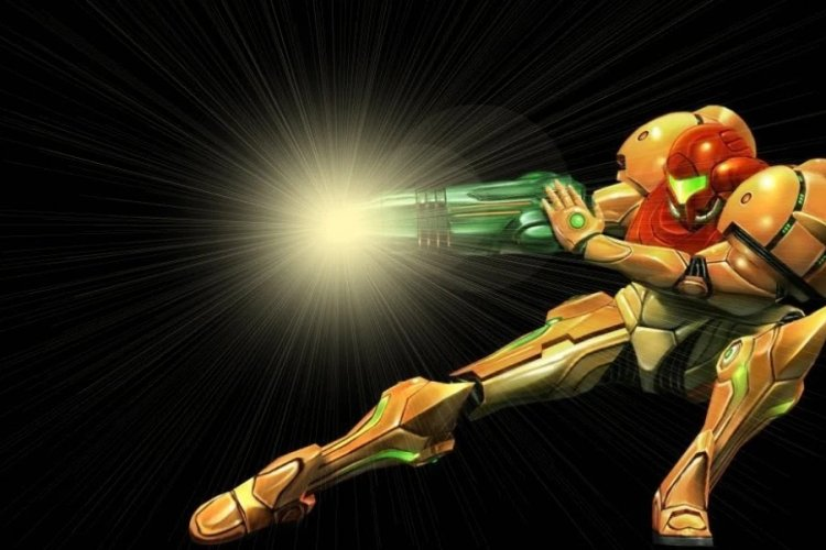 Samus Two Cannons